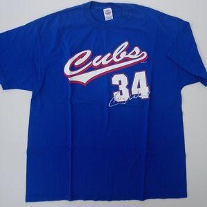 Chicago Cubs Kerry Wood shirt  blue men's 2XL